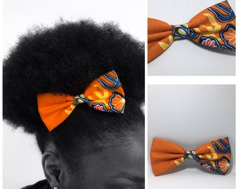 Orange Wax fabric accessory