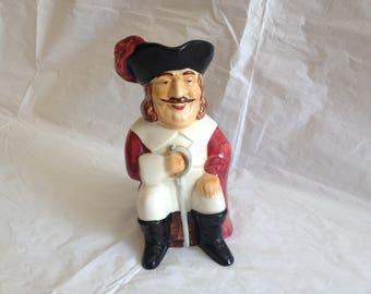Staffordshire Character Mug Jug Cavalier ~ Shorter & Son England