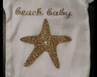 Beach Baby Bodysuit