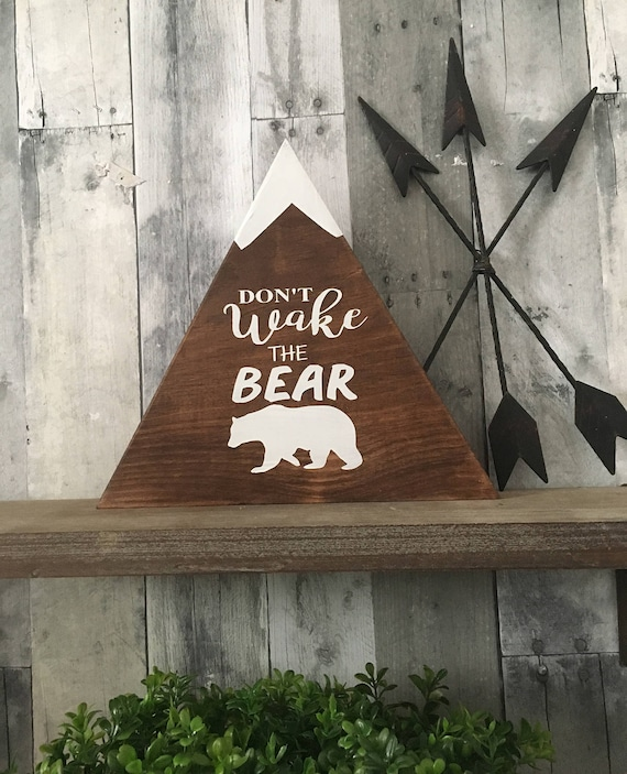 Donu0027t Wake The Bear Woodland Home Decor Country Home