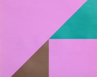 Pink Geometric by Hugo Dietz