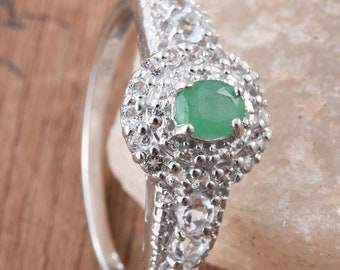 Emerals Ring - Size 6