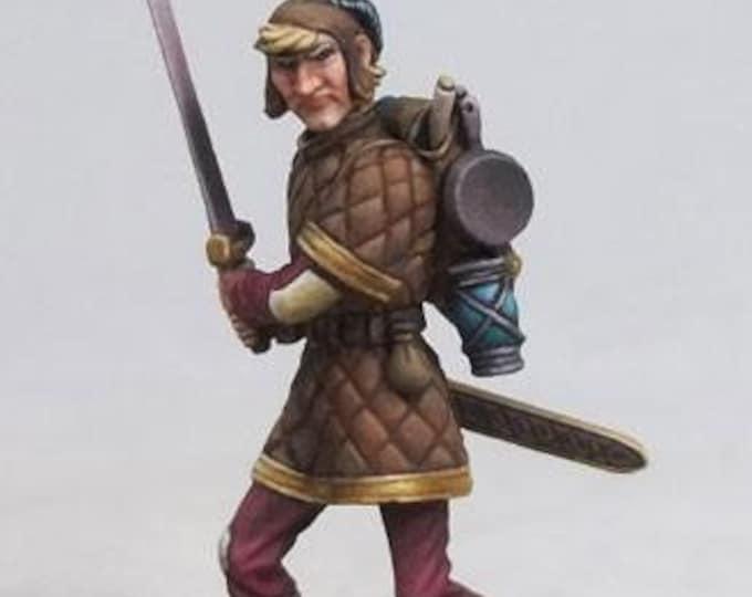 DiTerlizzi Masterworks: Hans The Loner, Human Rogue - 4601 - Dark Sword Miniatures