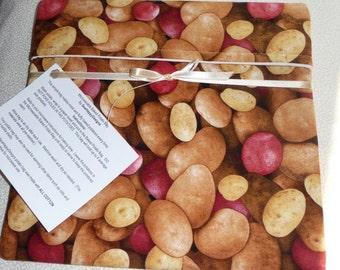 Microwave Potato Bag- Potato themed