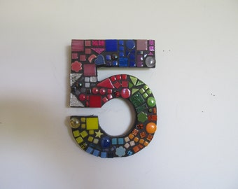 Mosaic House or Letterbox Number 5