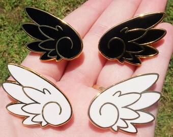anime wings enamel pins etsy favorite