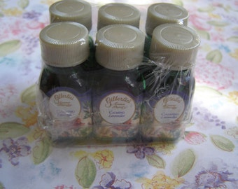Lavender Gilberties Natural Fragrance Oil - 6 bottles 1/4 fl oz each