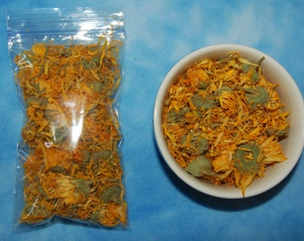 Sugar Glider Enrichment Treat- Organic Dried Marigold (Calendula Officinalis) Flowers
