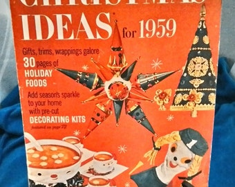 Vintage Better Homes & Gardens Christmas Ideas for 1959
