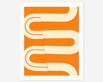 GOING #6 (Giclée Fine Art Print/Photo Print/Poster Print) Modern, Minimal, Abstract Artwork