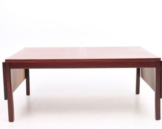 Danish Mid-Century Modern Expandable Coffee Table, Rosewood, Vejle Mobelfabrik