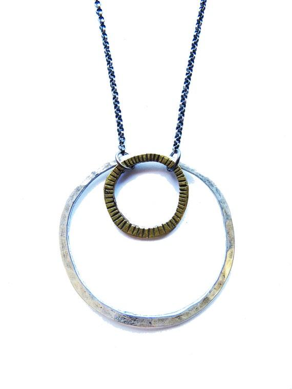 Mixed Circles Necklace