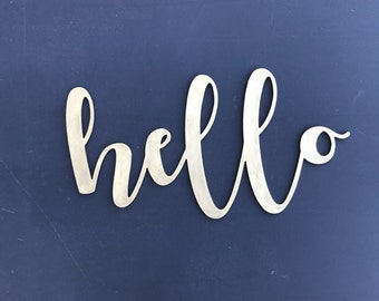 CLEARANCE thickwords- hello