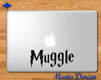 Harry Potter Muggle Vinyl Decal