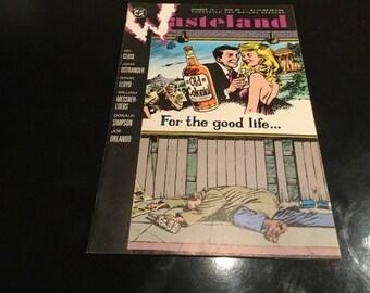 Wasteland DC Comics  no 12 1987