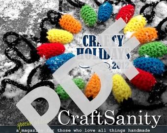 CraftSanity Magazine Holiday 2012 Edition PDF