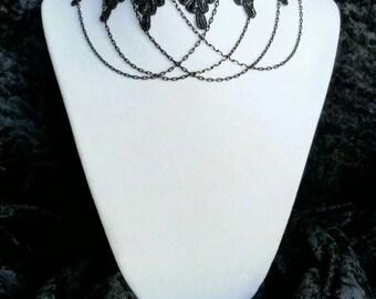 Gothic Lace Choker #2