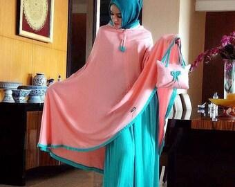 Mukena - women clothes for praying (pink)