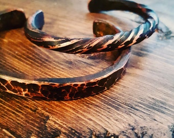 Hand-Forged Copper Bangle