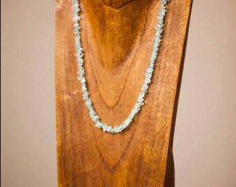 Ides of March Auquamarine Necklace/ Aquamarine Necklace/ March Birthstone/ Gemstone of the Month/ March Birthday Gift/ Spring Fashion Week