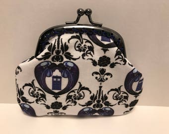 Weeping Angels Dr Who Tardis Coin Purse