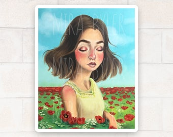 Poppies - Print (Hand Signed)