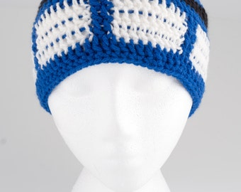 Large on the inside tuque - handmade crochet beanie