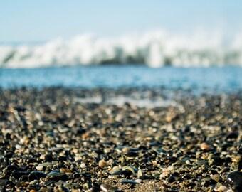 Landscape Photography, Waves Crashing on the Shore, Digital Photos