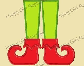 Elf Feet Applique