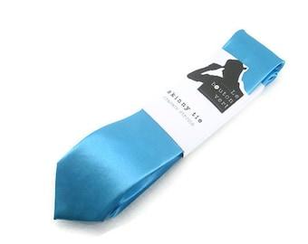 Sky Blue skinny tie