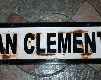 """24"""" San Clemente Train stop sign 24"""",small"""