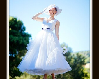 1950s Wedding Dress  'TATANYA'