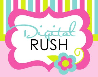 Digital Rush Add On - 24 Hour Digital Delivery
