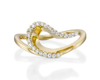 ring australian products network engagement eccentric diamond rings dress