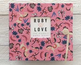 BABY BOOK   Rifle Paper Co. Pink Carousel Album