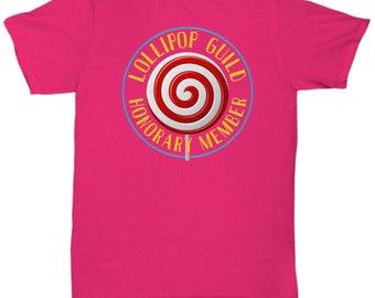 Lollipop Guild Shirt, Honorary Member, Wizard of Oz Gift, Wizard of Oz Quotes, Wizard of Oz Shirt