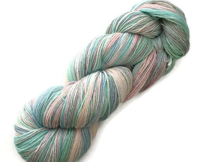 Wool hand dyed Merino and silk