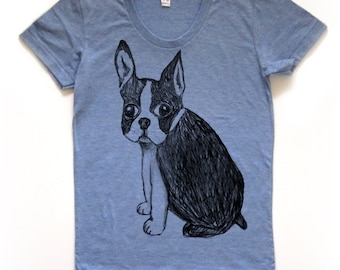 boston terrier shirt, boston terrier t, cute boston terrier tshirt, boston terrier design, french bulldog, free shipping