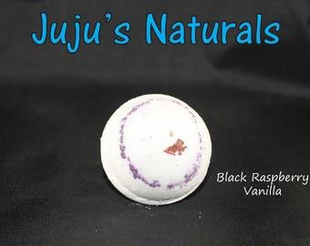 Black Raspberry Vanilla - Bath Bomb
