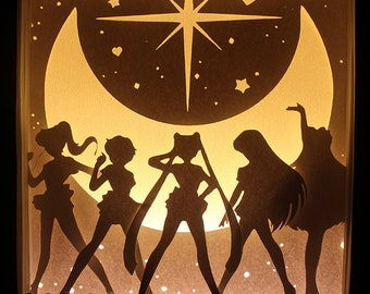 "Sailor Moon Lighbox - ""Sailor Team"""