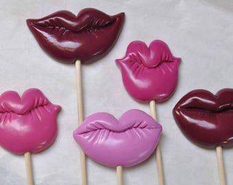 Accessories photobooth ° mouths candy ° for photos or decoration.