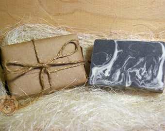 Natural handmade soap coffee and charcoal with white clay, Charcoal soap, Gift for her, Mother's day gift, Gift for him, Hand soap