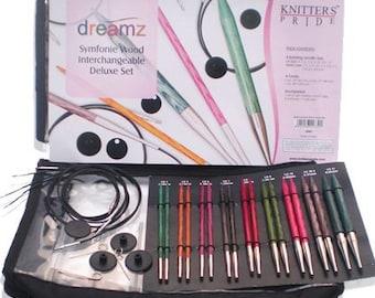 Dreamz Deluxe Interchangeable Knitting Needle Set