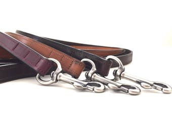 Dutchiz leather dog leash