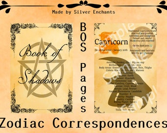 BOS Pages - Zodiac: Capricorn