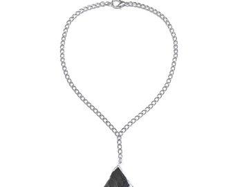 Black jasper necklace