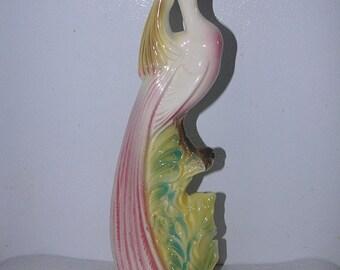 ON SALE Vintage Stewart Mcculloch Bird Figurine