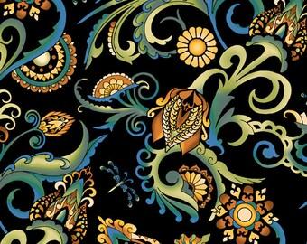 Deco All Over Fabric Multi Color 1/2 Yard 1DEC2
