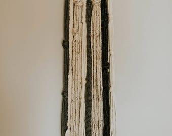 Long Ring Yarn Hanging / Yarn Hanging