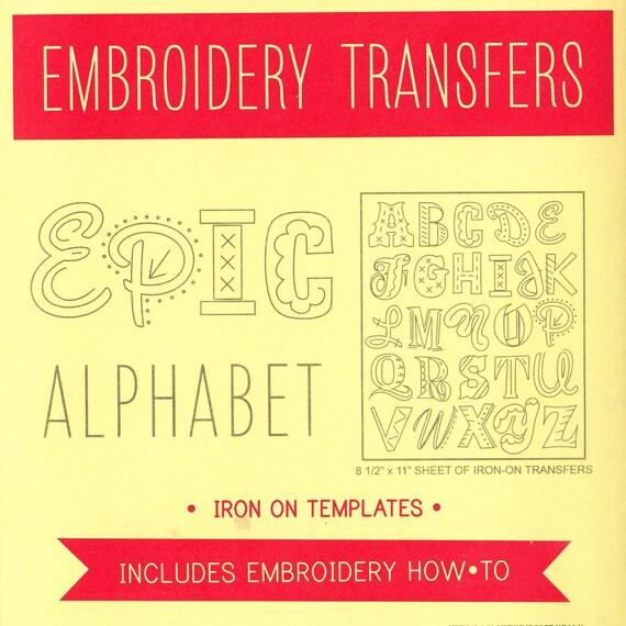 Stickmuster Alphabet Erhabene Nähte Stickmuster Monogramm